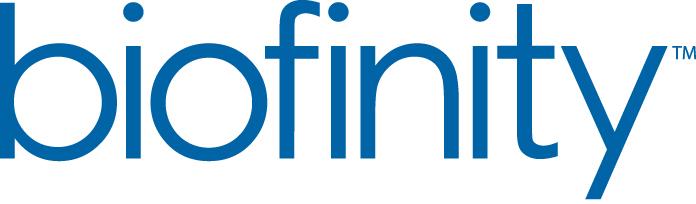 Logo for Biofinity