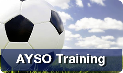 AYSO Soccer Camps provide a number of programs including full day  half day  and mini camps  as well as goalkeeper and striker clinics  advanced  training     AYSO