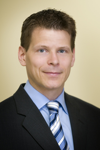 Dr. Hurlbert profile picture in suit and tie